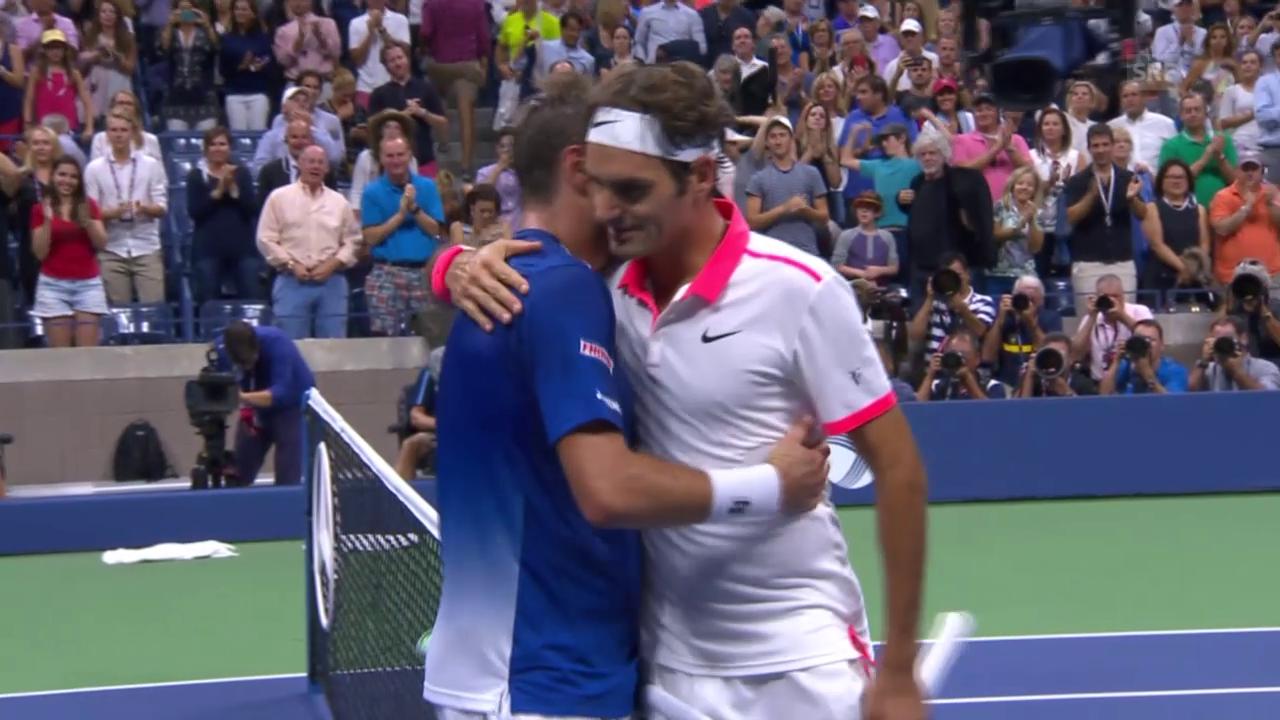 Tennis: Federer gewinnt historisches Schweizer Duell