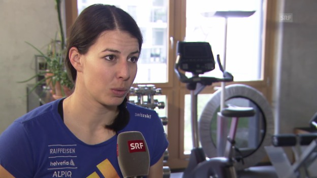 Video «Ski Alpin: Dominique Gisin über ihre WM-Chancen» abspielen