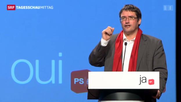 Video «SP-Präsident attackiert SVP-Stratege Blocher» abspielen