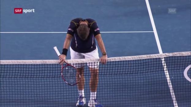 Video «Australian Open: Wawrinka - Djokovic («sportaktuell»)» abspielen
