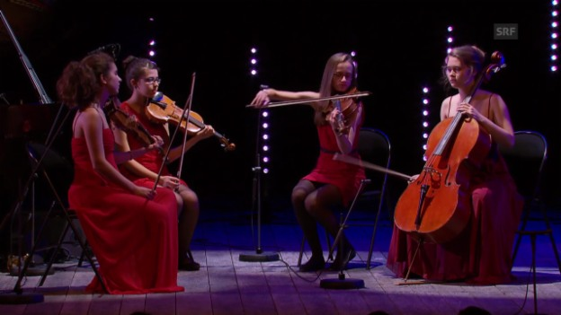 Video «Musikeinlage: Ensemble Krysalid» abspielen