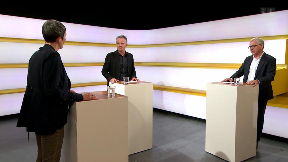 Studiogespräch mit Barbara Gysi, Nationalrätin SP/SG, und Erich Ettlin, Ständerat CVP «Die Mitte»/OW