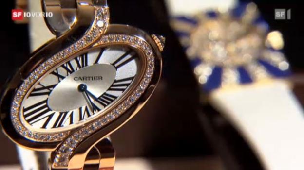 Video «Ausland lechzt nach Schweizer Uhren» abspielen