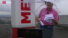 Video «Wetterfrösche leiden» abspielen