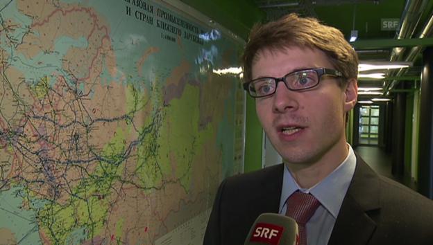 Video «Energieexperte Jonas Grätz zur Krise auf der Krim» abspielen