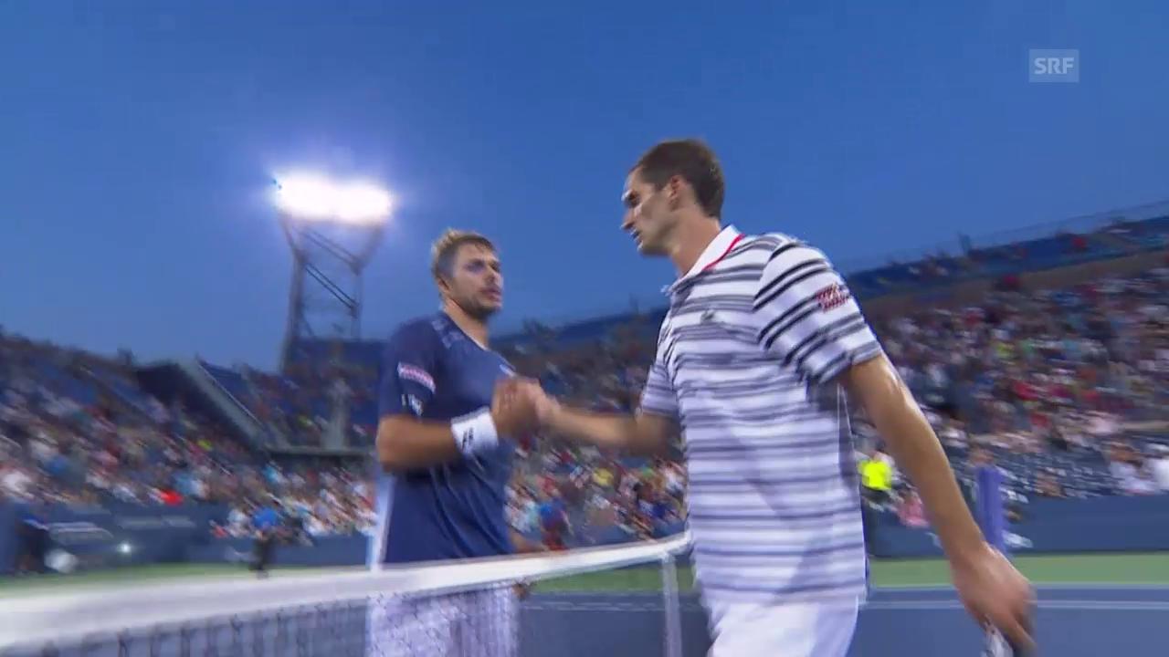 Tennis: US Open, Wawrinka - Ramos-Vinolas