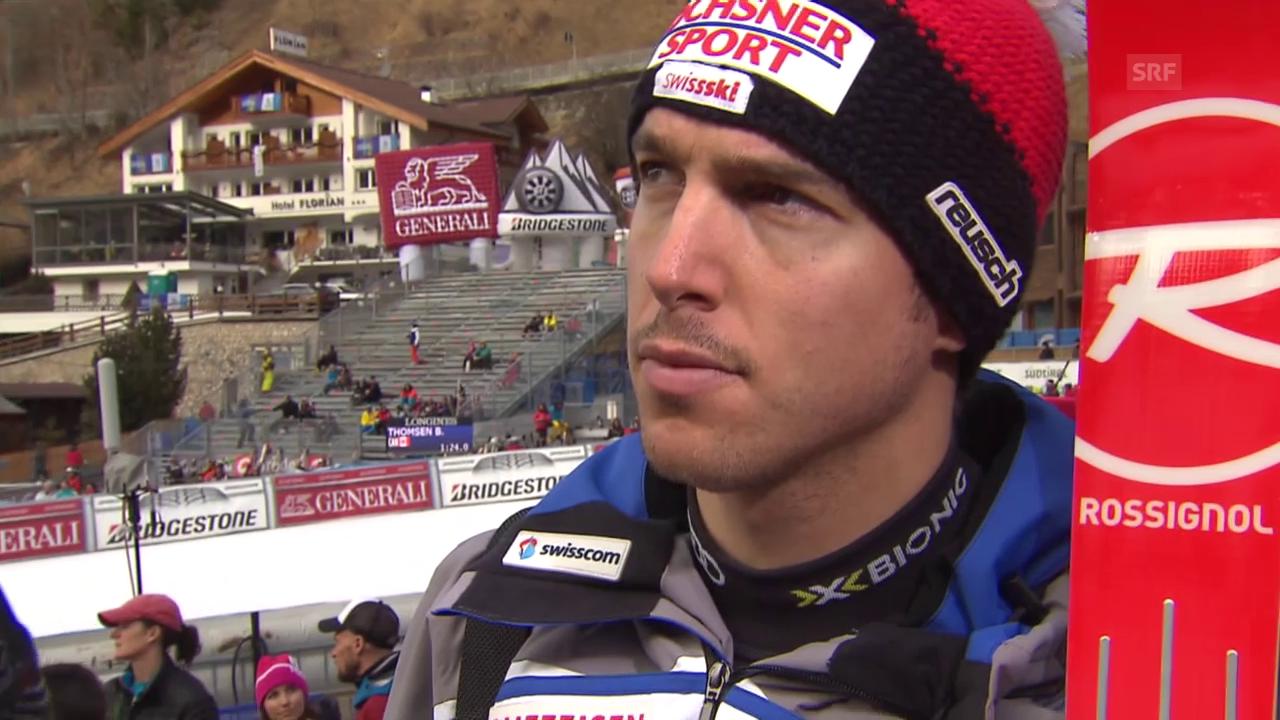 Ski: Training Gröden, Interview Janka (ohne Rauschen)