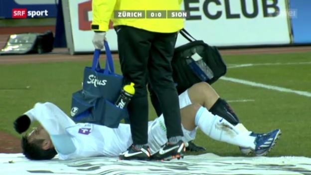 Video «Fussball: Super League, Zürich-Sion» abspielen