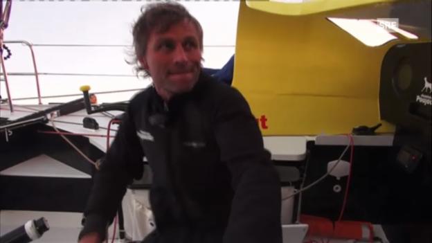 Video «Segeln: Vendée Globe mit Bernard Stamm» abspielen