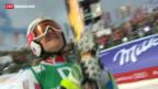 Video «Frauenabfahrt an Ski-WM in Schladming» abspielen