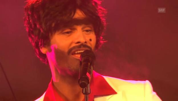 Video «Müslüm auf der «JRZ»-Konzertbühne» abspielen