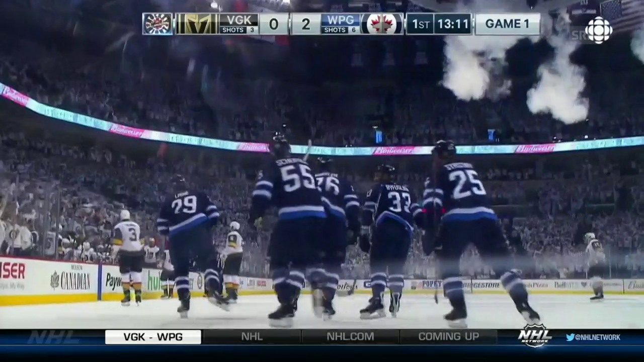 Winnipegs Tore zum 4:2-Sieg über Vegas