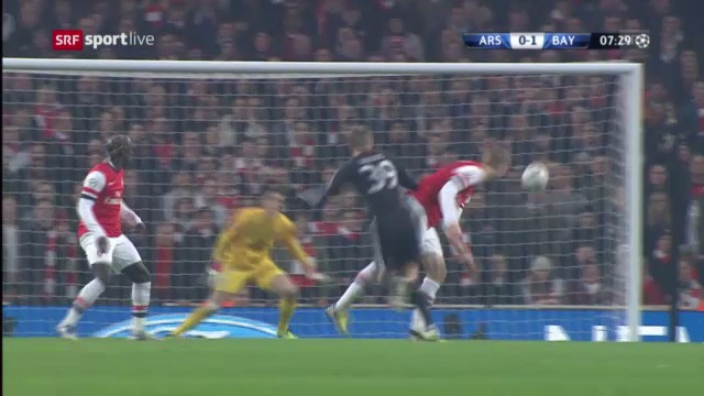Highlights Arsenal - Bayern München («sportlive»)