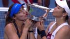 Video «25. Grand-Slam-Titel für Martina Hingis» abspielen