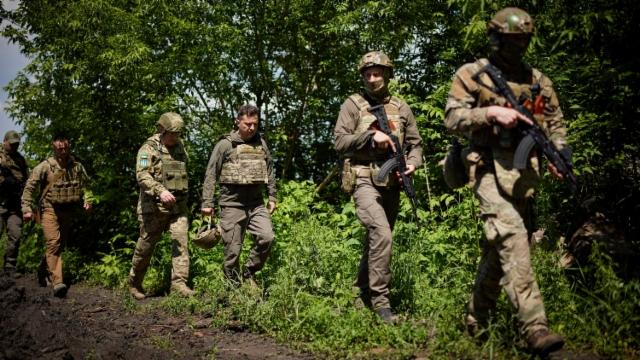 Aus dem Archiv: Pentagon kündet Militärhilfe für Ukraine an