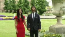 Video «Hier verkünden Carl Philip und Sofia Hellqvist ihre Verlobung (unkomm.)» abspielen