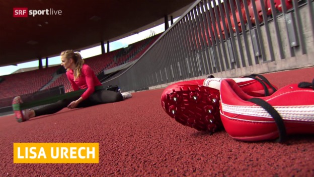 Video «Leichtathletik: Lisa Urech pausiert» abspielen