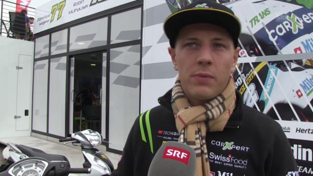 Video «Motorrad: GP von Assen, Qualifying» abspielen
