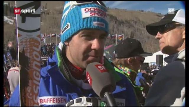 Ski alpin: Interviews mit Didier Défago und Carlo Janka («sportaktuell»)