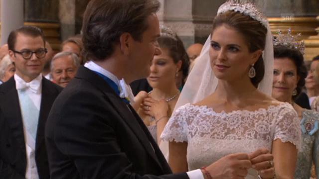 Prinzessin Madeleine und Chris O'Neill sagen Ja
