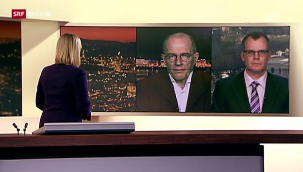 Video «Korrespondenten schätzen die Lage ein.» abspielen