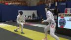 Video «Fechten: Degen-Weltcup der Männer in Bern» abspielen