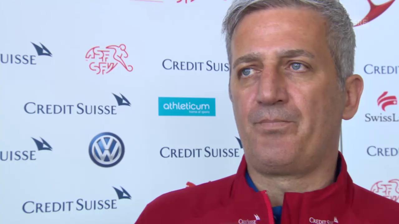 Fussball: Nati-Coach Vladimir Petkovic über den Einsatz seiner Spieler im Klub