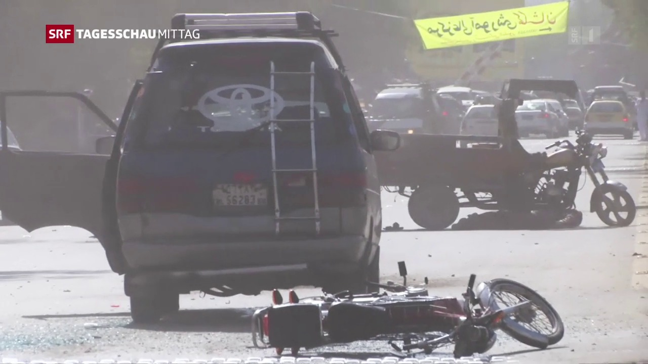 Dutzende Tote nach Bombenanschlägen in Kabul