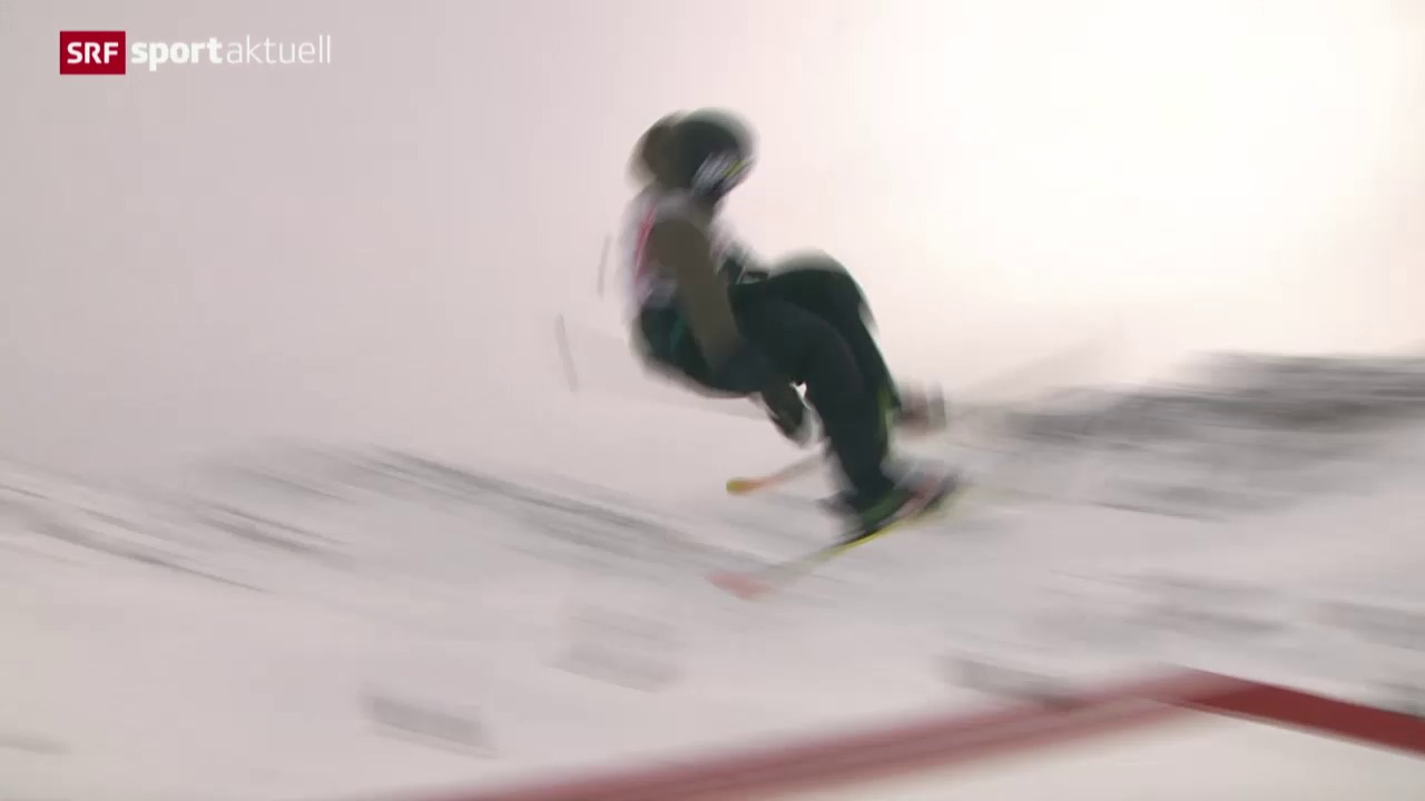 Skicross-Action in Arosa, Slopestyle am Corvatsch