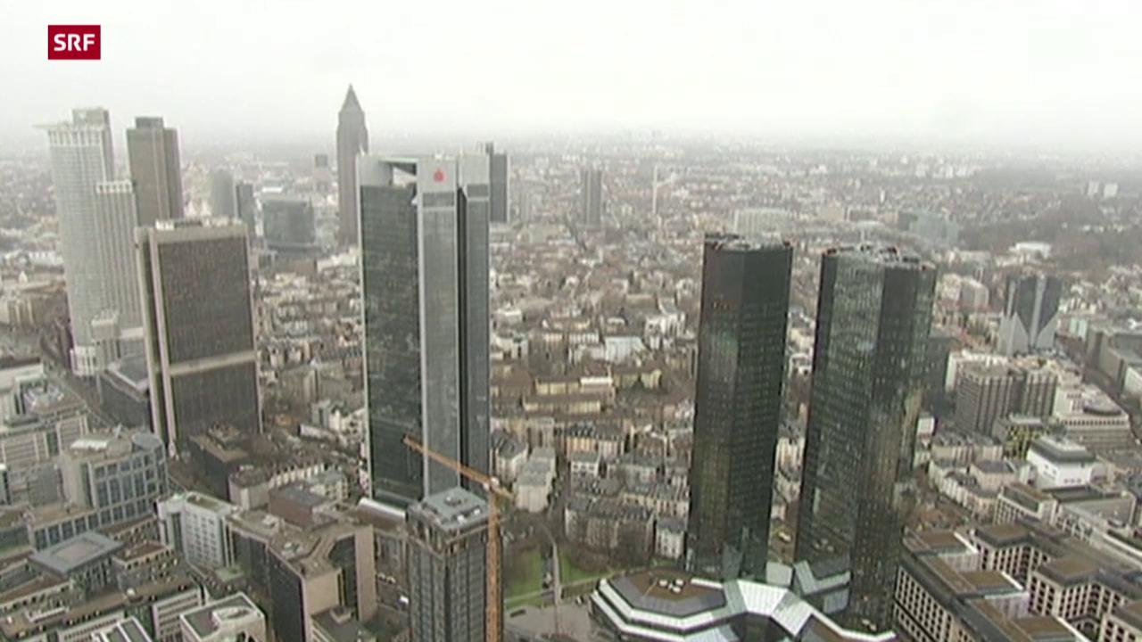 Rekordverlust für Deutsche Bank