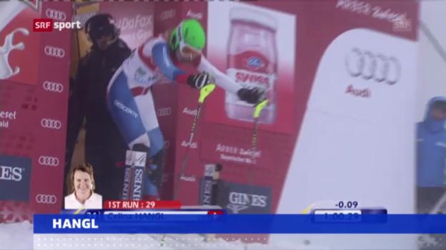 Video «Ski alpin: Celina Hangl beendet Karriere («sportaktuell»)» abspielen
