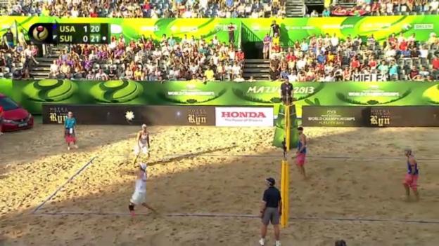 Video «Beachvolleyball-WM: Gruppenspiele («sportaktuell»)» abspielen