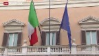 Video «Italien sucht seinen neuen Staatspräsidenten» abspielen