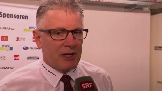 Video «Eishockey: Finalserie ZSC - HCD, Interview mit Marc Crawford» abspielen