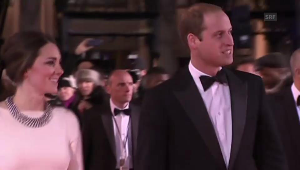 Da mochten sie noch lachen: William und Kate