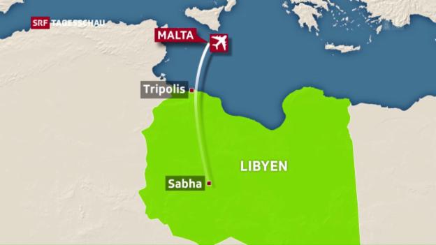 Video «Flugzeugentführung nach Malta» abspielen