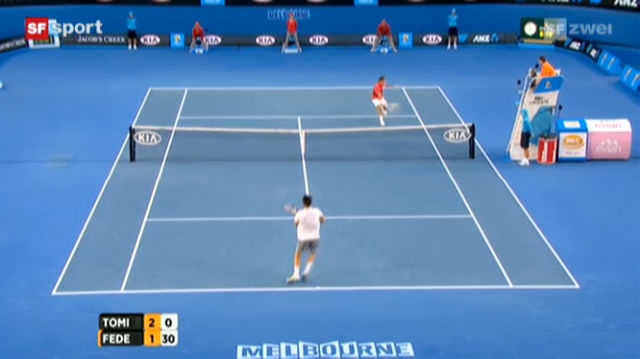 Australian Open: Federer -Tomic