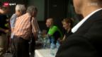 Video «Tennis: Steffi Graf und Andre Agassi in Zug» abspielen