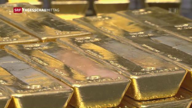 Video «SNB schreibt Gewinn von 28,7 Milliarden Franken» abspielen