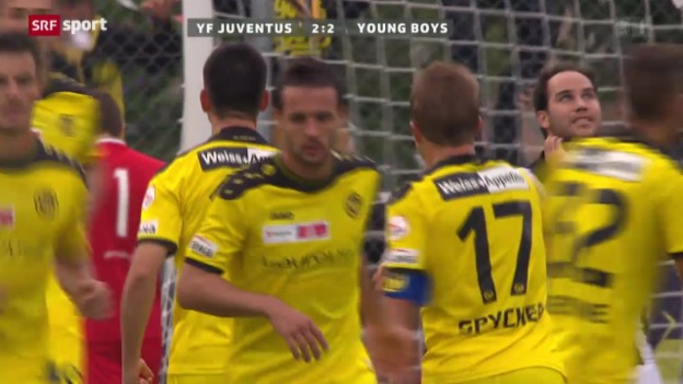 Video «Cup: YF Juventus-Young Boys» abspielen
