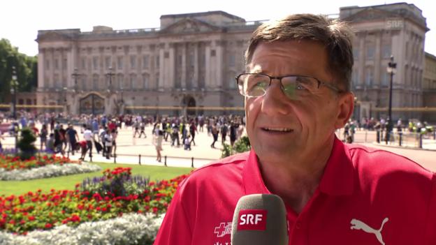 Video «Die Schweizer Bilanz mit Peter Haas, Chef Leistungssport» abspielen