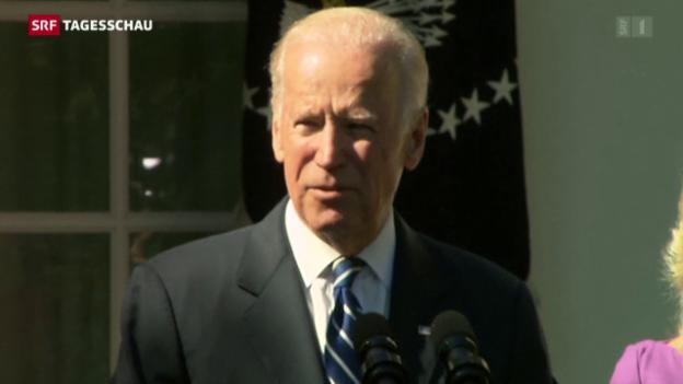 Video «Joe Biden kandidiert nicht» abspielen