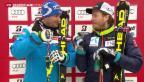 Video «Schweizer Alpine nach Olympia ohne Glück» abspielen