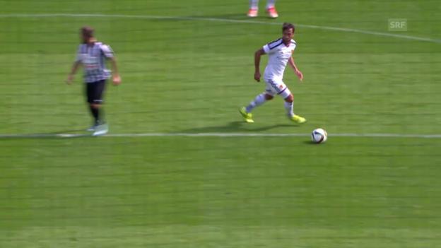 Video «Basel - YF Juventus: Die Highlights» abspielen