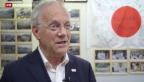Video «Bundesrat Schneider-Ammann besucht Erdbebenregion in Japan» abspielen
