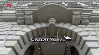 Video «Credit Suisse zahlt 5.3 Milliarden Bussgeld an USA» abspielen