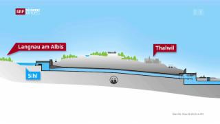 Video « Super-Stollen soll Zürich vor Hochwasser schützen» abspielen