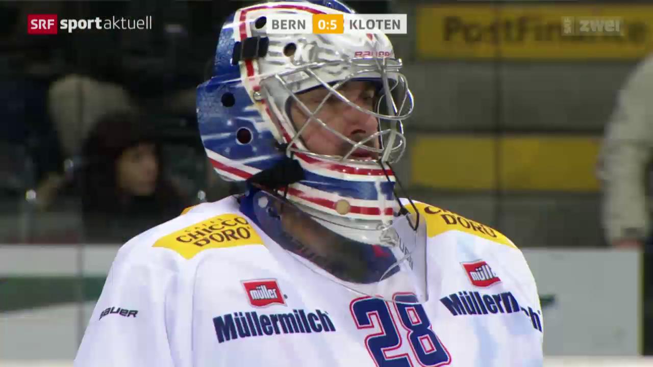 Eishockey: Bern - Kloten