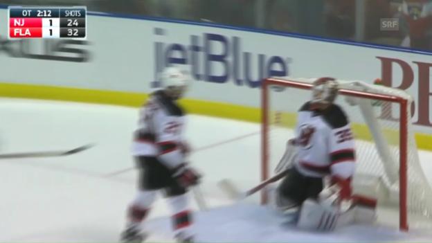 Video «Malgin siegt beim NHL-Debüt» abspielen