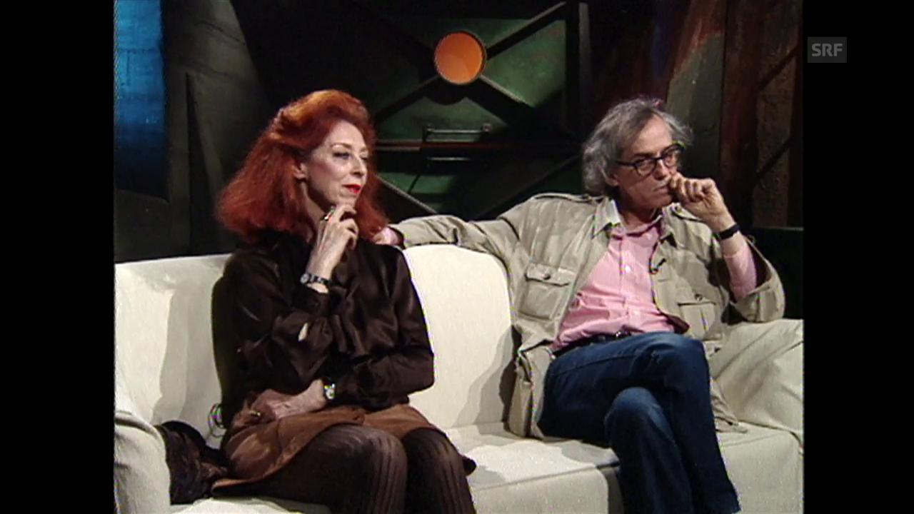 Gespräch mit Christo und Jeanne-Claude (neXt, 29.1.1995)